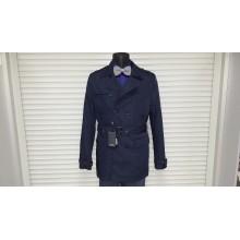 Куртка-плащ осень-зима AVVA A52 6031 11 LACIVERT DARK BLUE